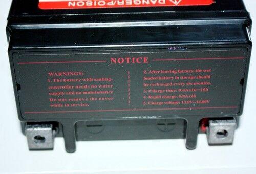 YT4L-BS 12V 4AH Battery 50c 70cc 110cc PIT PRO TRAIL DIRT QUAD BIKE ATV BUGGY