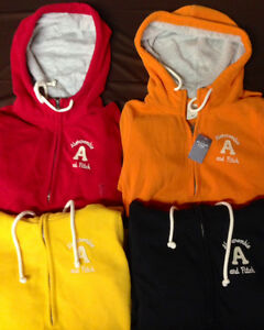 NWT-Lot-Abercrombie-Fitch-Womens-Hoodie-XS-Small-Hollister-Free-Worldwide-Ship