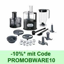 BRAUN IdentityCollection Küchenmaschine FP 5160 Schwarz 1000W 2 l Schüssel
