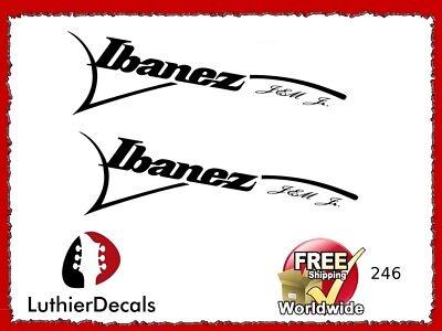 Ibanez Jem Jr Guitar Decal Headstock Waterslide Restoration logo 126wb