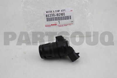 Windshield Washer Squirter Pump 85330-60180 85330-60190 Replacement For Tundra