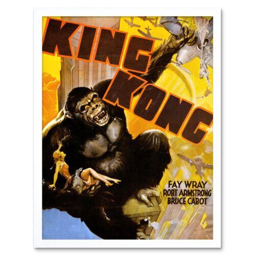 Advertising Movie Film King Kong Classic Gorilla New York Horror Framed Print