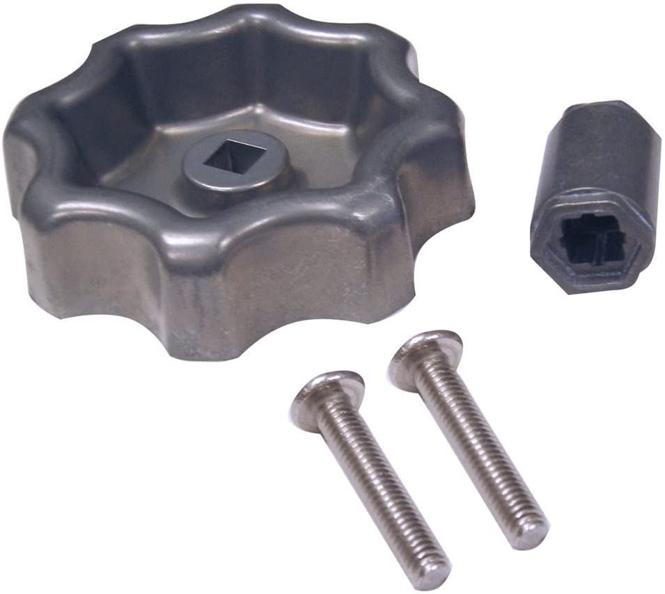 Universal Outdoor & Hose Faucet Water Spigot Handle Bibb Round Wheel Metal NEW
