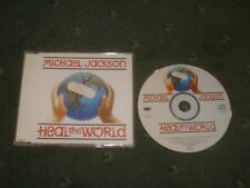 MICHAEL JACKSON-HEAL THE WORLD-RARE CD SINGLE/MAN IN THE MIRROR/80S/90S/POP