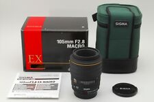 【Mint 】  SIGMA AF 105mm f/2.8 D EX Macro for Nikon w/BOX CASE from Japan  #590