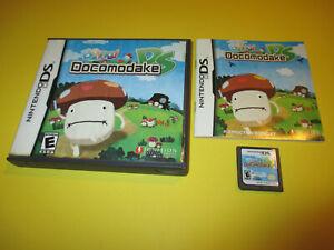 Boing-Docomodake-DS-Nintendo-DS-Lite-DSi-XL-3DS-2DS-Game-w-Case-amp-Manual
