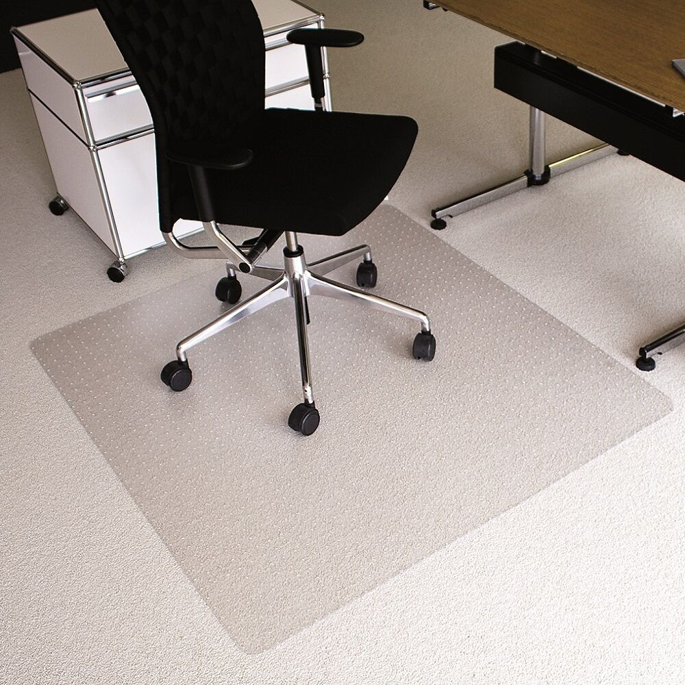 Fussboden Schutzmatte für Teppichböden und Hartböden Laminat Parkett usw.
