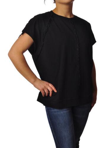 8pm Black t 5186018g184545 Topwear Woman shirts rUIrxCq81w