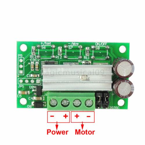 6 V 12 V 24 V 3 A DC Vitesse du Moteur Contrôleur PWM Régulateur avec bouton poussoir