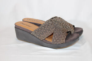 Bare-Traps-Woven-Fabric-Wedge-Sandals-Ellsa-PICK-SIZE-COLOR-NEW