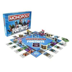Monopoly-Fortnite-Edition-Board-Game-NEW-SEALED-by-HASBRO-english-amp-french-cards