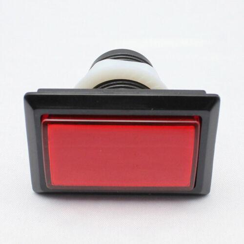 5pcs Rectangular Illuminated LED Push Button for Arcade JAMMA MAME Game Cabinets