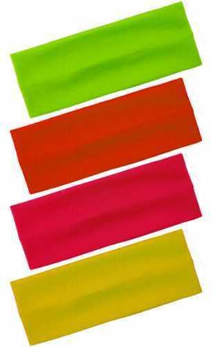 NUOVO Ragazze signore alla moda Morbido Neon Colori WIDE 100/% NYLON cerchietti