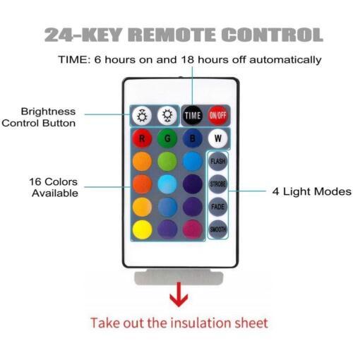 5m 10M RGB LED String Lichtleiste Fernbedienung wasserdicht dimmbar Lichterkette