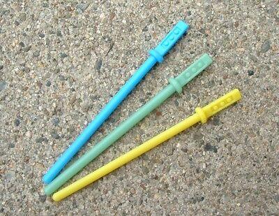 """NICE LOT 1/"""" Custom BLACK /&BLUE Han Luke Weapon 1977/&1980 Vintage Star War FLOATS"""