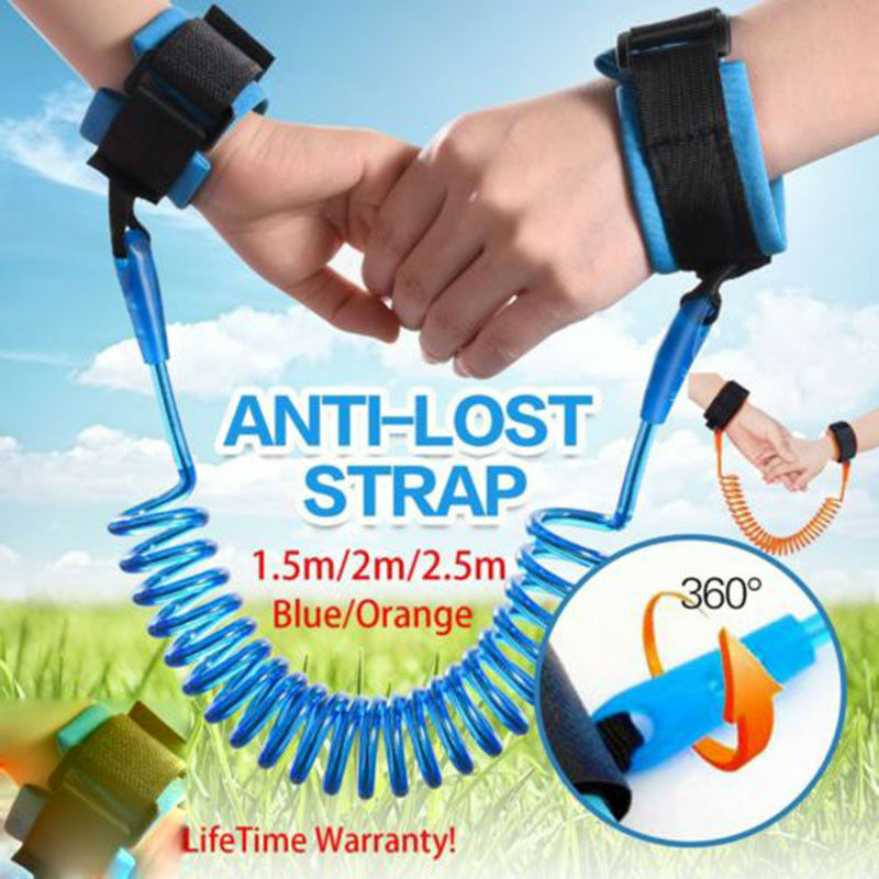 Kid Anti lost Band Safety Link Harness Toddler Child Baby Wrist Strap Belt Reins