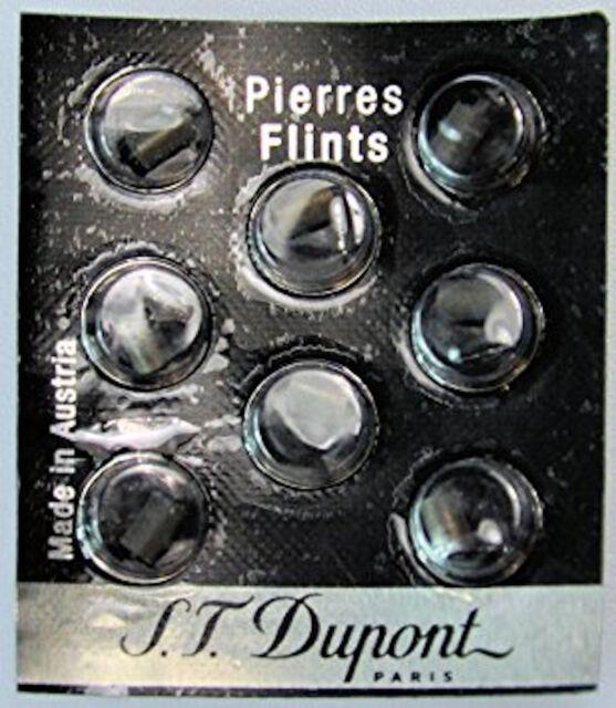 Ligne 8 /& Le Grand 650 S.T Dupont Lighter Red Flints Pack of 8 for Ligne D