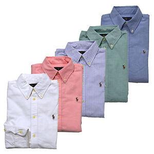 Polo ralph lauren shirt women button down oxford new for Polo ralph lauren casual button down shirts