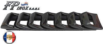 Grille d/'aération 5 volets Moteur 325mmx115mm inox 316