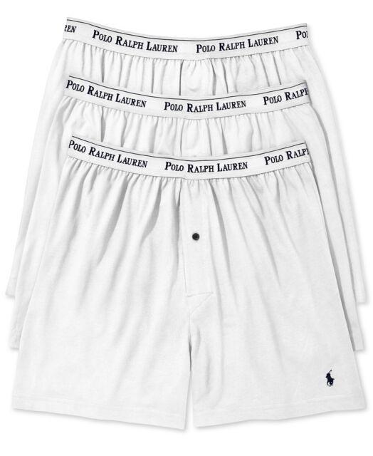 ad896463340 Polo Ralph Lauren Classic Fit 3 Cotton Button Fly Boxer Briefs Men s ...