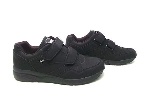 Scarpe uomo Australian nero sneakers sportiva strappo pioggia passeggio strappo