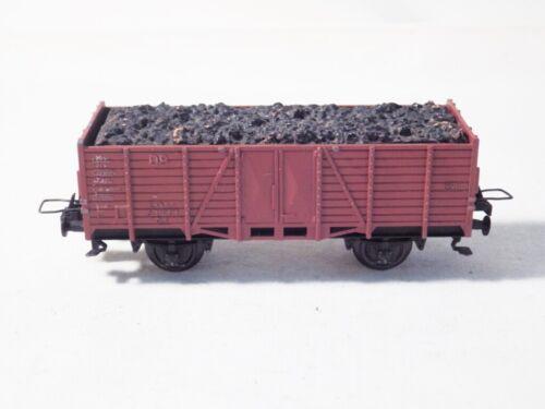 DB Essen 63001 Om Trix Express H0 3414 Guss MDR Güterwagen mit Basaltschotter