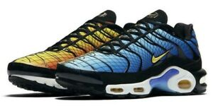 Details about New NIKE Air Max Plus TN Men's Sneakers blue orange sizes  10-13