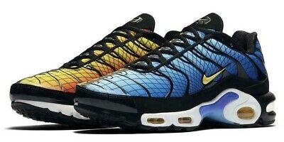best sneakers 30ce4 2bc05 New NIKE Air Max Plus TN Men's Sneakers blue orange sizes 10-13 | eBay