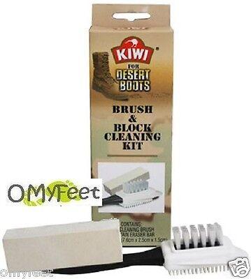 1 Kiwi Suede Nubuck Brush and Block Cleaning Kit 27710