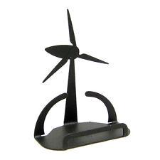 Wind Power Black Metal Business Card Holder