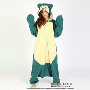 SAZAC-Pokemon-Snorlax-Kabigon-Fleece-Costume-Adult-Unisex-Cosplay-Japan