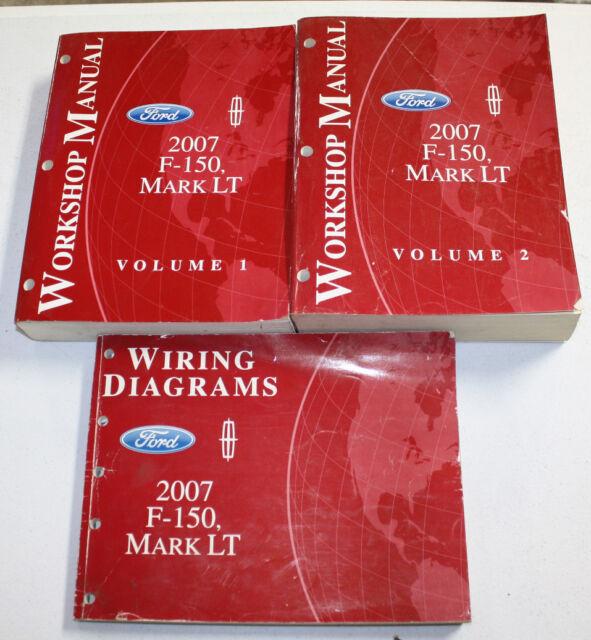 2007 Ford F-150, Mark LT Manual & Wiring Diagram | eBay