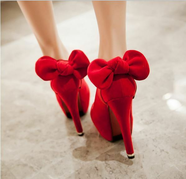 Décollte Scarpe Scarpe Scarpe decolte  donna tacco spillo 9 cm o 13 cm Plateau rosso  8879 32277e