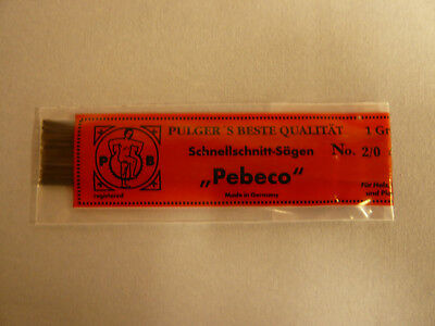 1 Gros Laubsägeblätter Pebeco Holzlaubsägeblätter Sägeblätter für Holz Qualität
