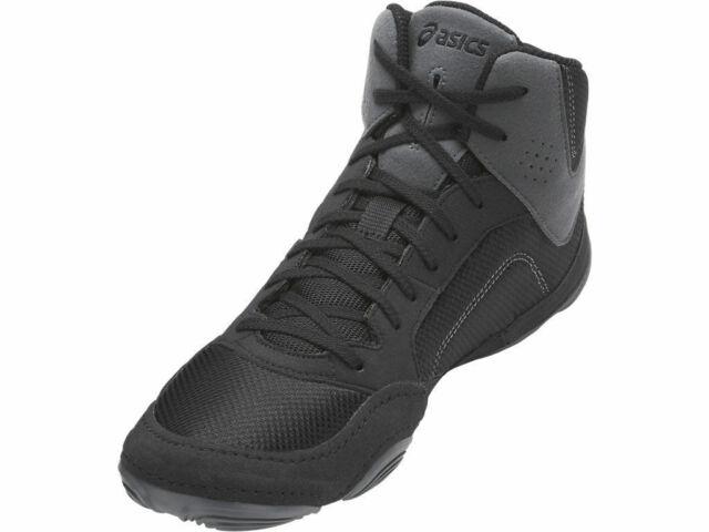 a28bfc4a Asics SNAPDOWN 2 Men's J703Y.9090 BLACK/CARBON Wrestling Shoes (PRE-OWNED)