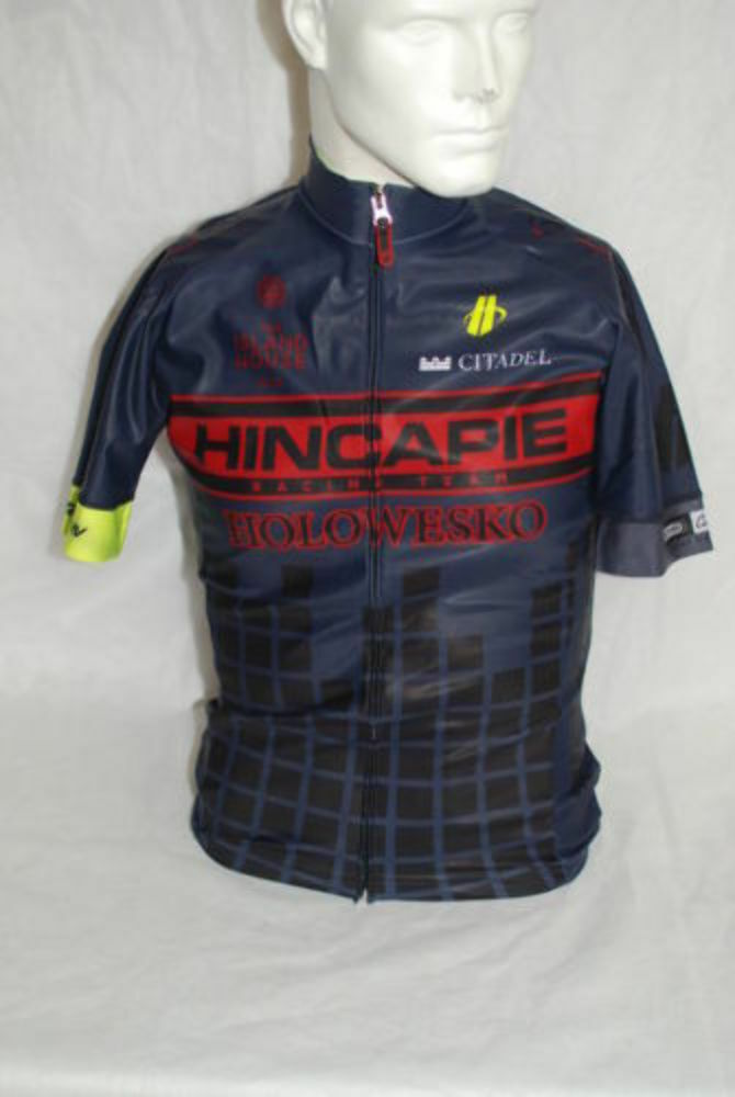 Hincapie Pro Cycling Team Element Rain SS Jersey  Herren Small NEW