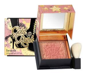 Benefit-GOLD-RUSH-Warm-Golden-Nectar-BLUSH-Pink-Gold-Shimmer-BLUSHER-Mini-2-5g