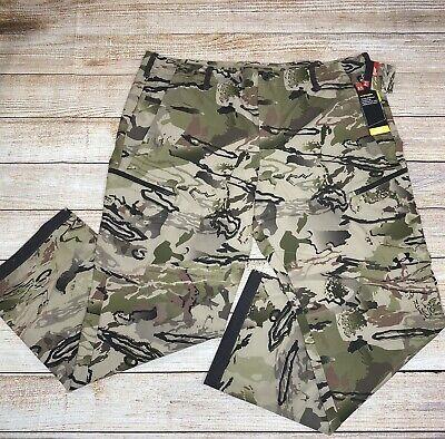 NEW UA Under Armour Barren Camo Men/'s Pants 1299248 901 32//32 NWT loose fit
