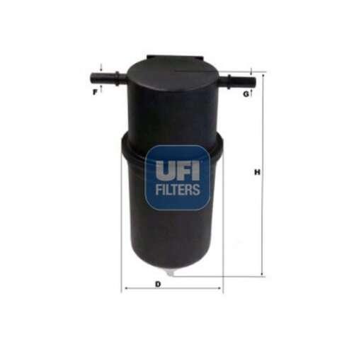 Fits VW Crafter 2.0 TDi Genuine UFI Fuel Filter