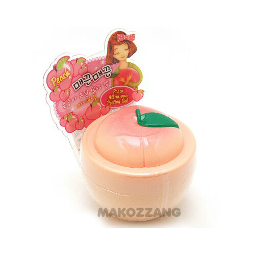 baviphat Peach All-in-One Peeling Gel 100g Scrub Exfoliator Korean Cosmetic Gift