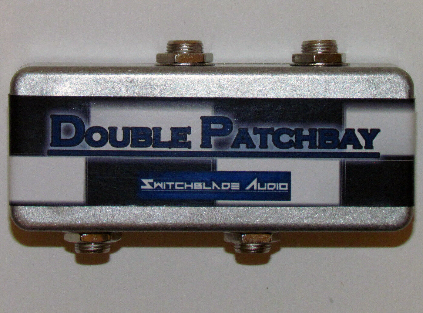 Pedalboard Double Patchbay 2-Channel 1/4