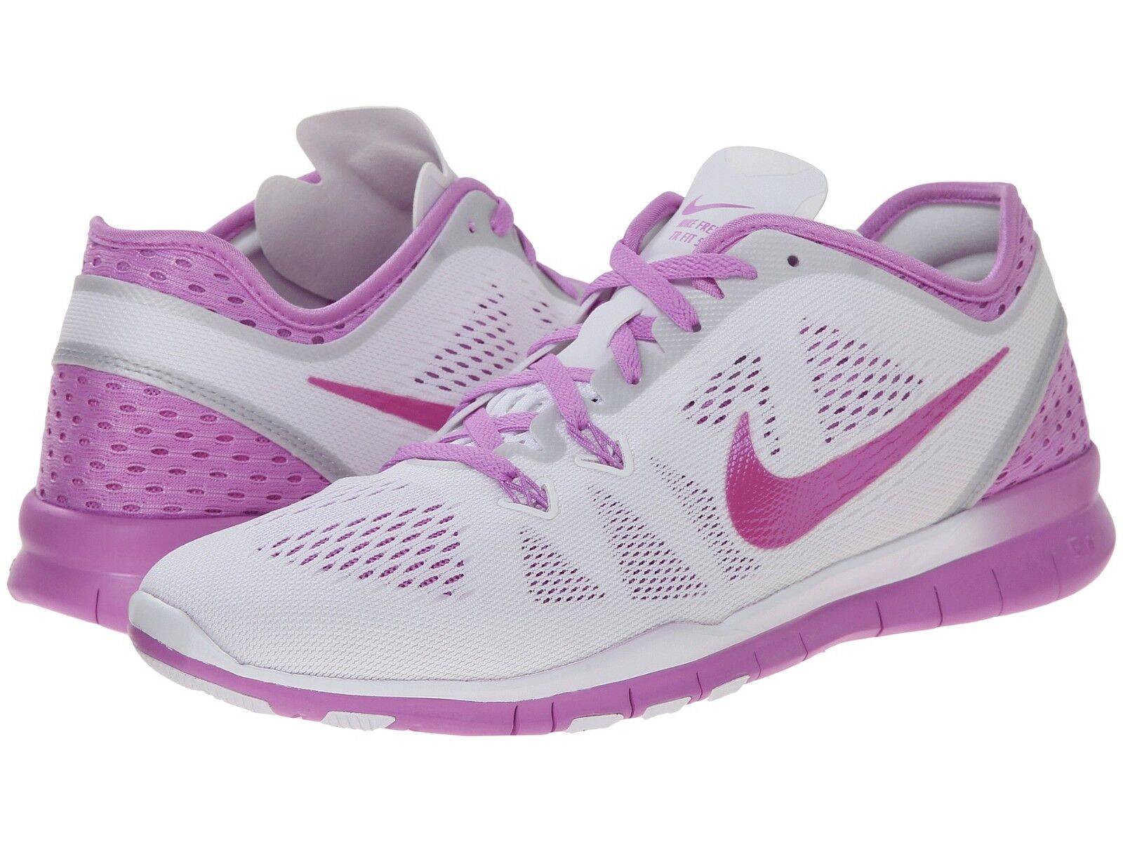 Women's Nike Free 5.0 TR Fit 5 Breathe Training Shoes, 718932 101 Size 9.5 Wh