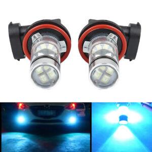 2pcs-8000k-Ice-Blue-H11-H8-H9-Fog-Lights-LED-100W-Driving-Bulbs-Car-Auto-12V-DC