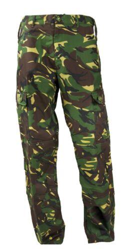 Highlander Elite Combat Pantaloni Dpm Esercito Mimetico Pantaloni Militari Tattici