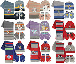 0eca65fea322c1 Image is loading Boys-Girls-Kids-Official-Various-Character-Winter-Hat-