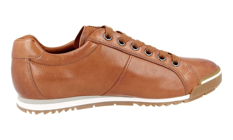 Authentiques Luxe De 4e2719 Baskets Prada Marron Les Chaussures Cwx5XqEn5U
