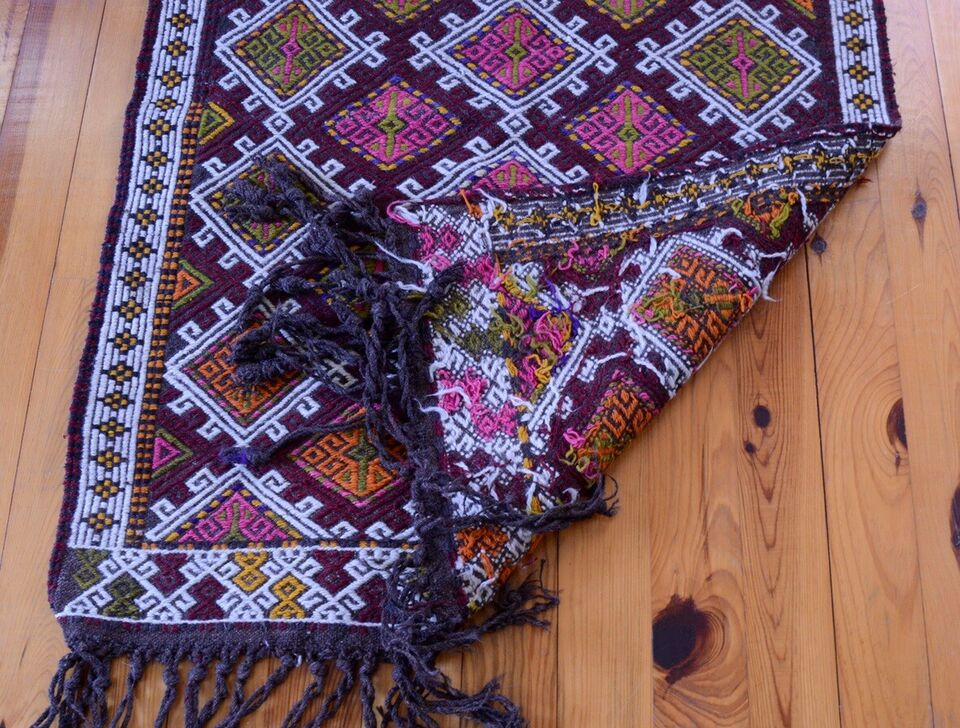 Gulvtæppe, ægte tæppe, uld