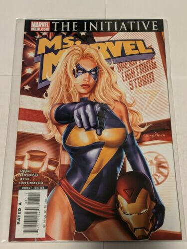 Ms Marvel #2 June 2006 Marvel Comics Reed De La Torre Palmiotti