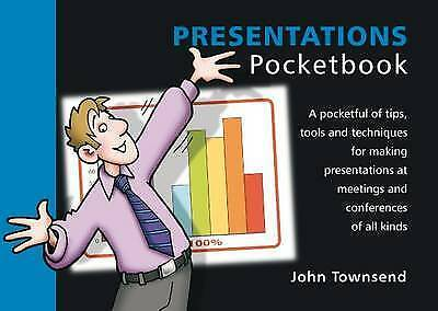 1 of 1 - Presentations Pocketbook, Very Good Condition Book, John Townsend, ISBN 97819066