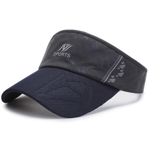 Men Women Sun Visor Caps Outdoor Adjustable Sport Beach Summer Holiday Headband